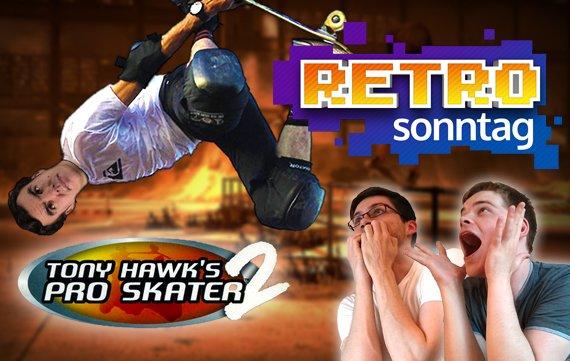 RETRO Sonntag: Auf die Bretter mit Tony Hawk's Pro Skater 2
