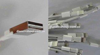 Fotos zeigen angeblich Apples neue USB 3 Lightning-Kabel