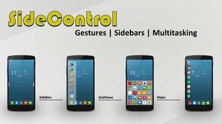 SideControl: Gesten- und Sidebar-Launcher mit vielen Funktionen