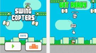 Swing Copters: Neues Spiel des Flappy-Bird-Entwicklers im App Store erhältlich