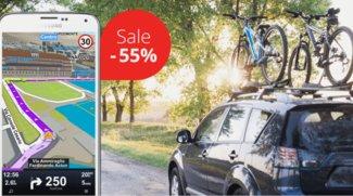 Sygic GPS: Offline-Navigation-App mit Blackbox Feature und Karten zum halben Preis