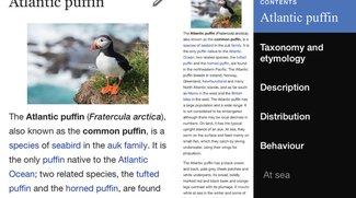 Wikipedia: Offizielle App in komplett neuer Version 4.0 erhältlich
