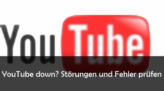 Ist YouTube down? Aktuelle Störungen und Fehler ermitteln und beheben