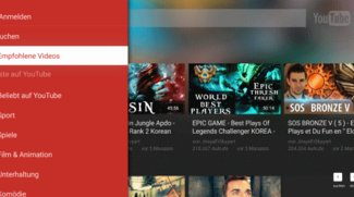 YouTube TV App Update: Optimierung für Fernsehwiedergabe