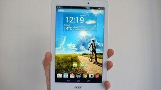 Acer Iconia Tab 8 im Test: Wenig Preis, viel Leistung