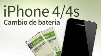 Cambio de batería de iPhone 4/4s: Guía paso a paso