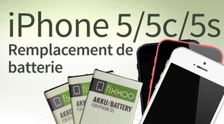 Remplacement de batterie d'iPhone 5/5c/5s: Guide étape par étape