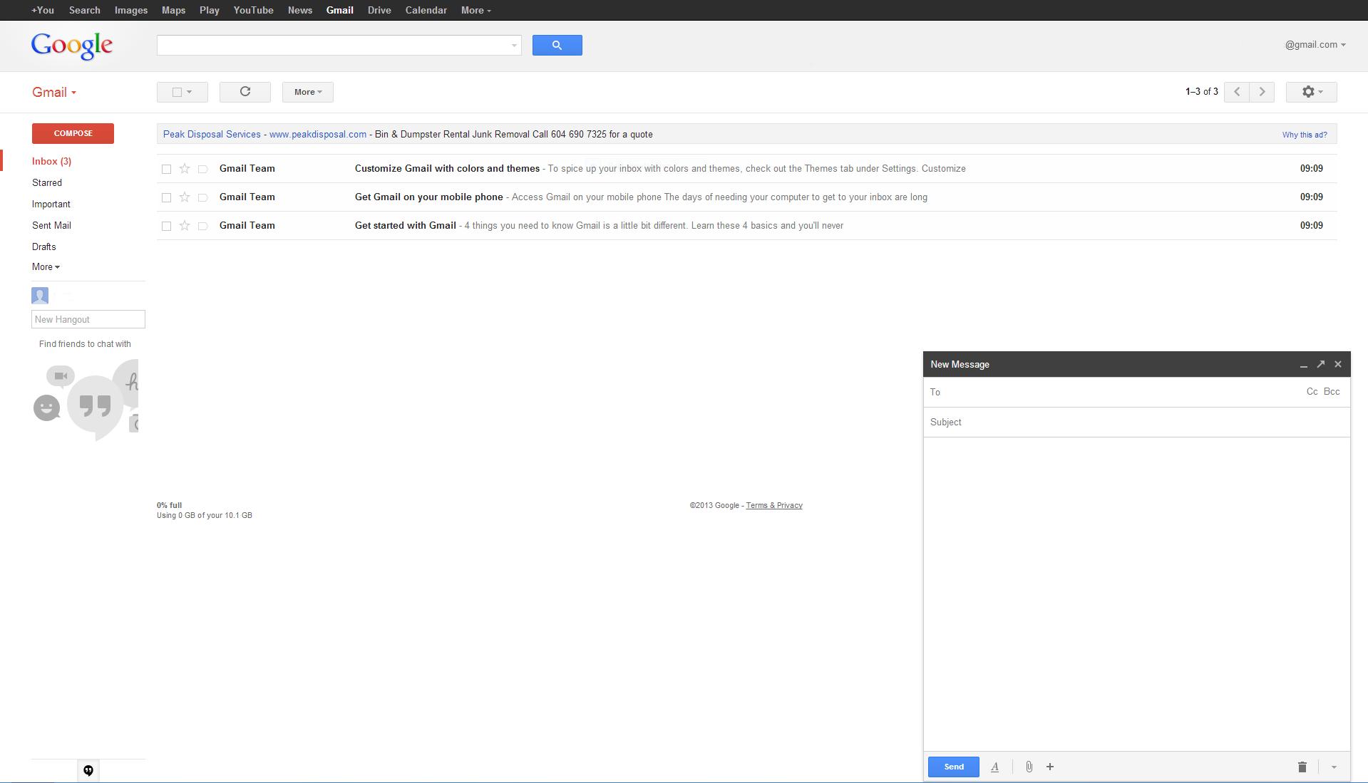 Black themes for gmail - Gmail Alles Auf Einen Blick
