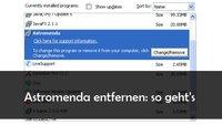 Astromenda löschen aus Firefox, Chrome und Co.