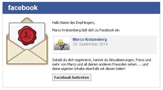 facebook: freunde einladen – so geht's! – giga, Einladung