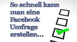 Praxistipp: Facebook Umfrage erstellen
