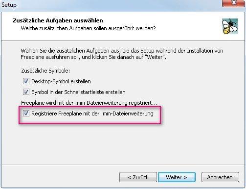 Freeplane kann auch FreeMind-Dateien lesen und schreiben
