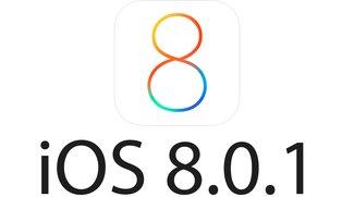iOS 8.0.1 veröffentlicht: Probleme mit Touch ID und Mobilfunkempfang