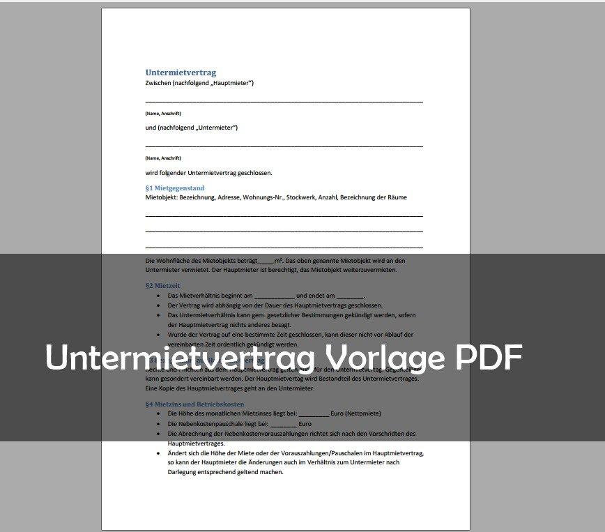 untermietvertrag-vorlage-pdf