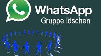 Eine WhatsApp Gruppe löschen - So geht's