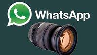 WhatsApp-Kamera aktivieren und schnell ein Foto oder Video schießen