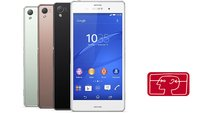 Sony Xperia Z3: High End-Smartphone mit Frontlautsprechern