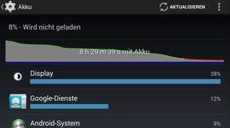 AMOLED-Displays: Test zeigt, wie viel Energie Apps mit schwarzem Hintergrund sparen können