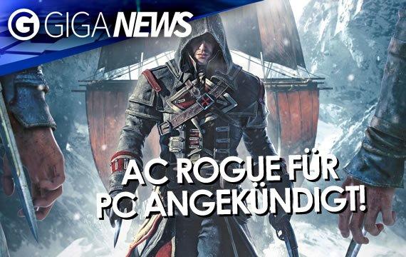 GIGA News: Assassin's Creed Rogue für PC, New 3DS-Verkaufszahlen und Gran Turismo 7
