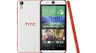 HTC Desire Eye: Smartphone mit 13 MP-Selfie-Kamera &amp&#x3B; Frontblitz geleakt