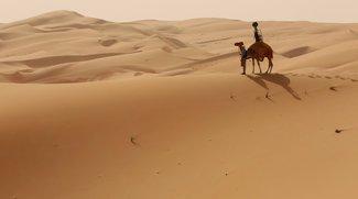 Google setzt Kamel für Wüsten-Street-View ein