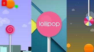 Android 5.0 Lollipop mit spielbarem Flappy-Bird-Klon (Versions-Easter-Egg)
