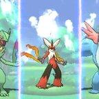 Pokémon Alpha Saphir & Omega Rubin: Die neuen Mega-Pokémon