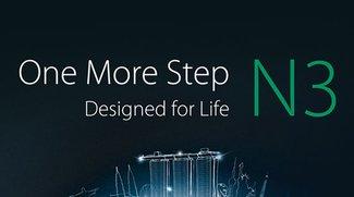 Oppo N3: Teaserbild lässt Fingerabdrucksensor vermuten