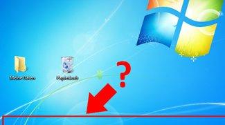 Taskleiste weg (Windows) – was tun?