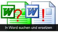 In Word suchen und ersetzen: Hotkeys und Optionen