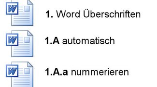 Anleitung Word: Überschriften automatisch nummerieren