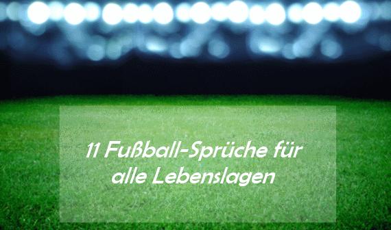 fußballsprüche: lustig oder zum nachdenken als status und mehr