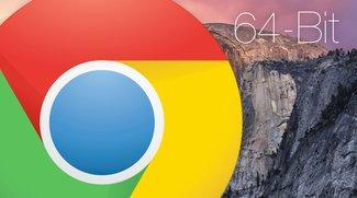 Google Chrome als 64-Bit-Version für OS X Verfügbar