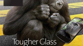 Corning Gorilla Glass 4: Neue Generation des Displayglases schützt besser gegen Fallschäden
