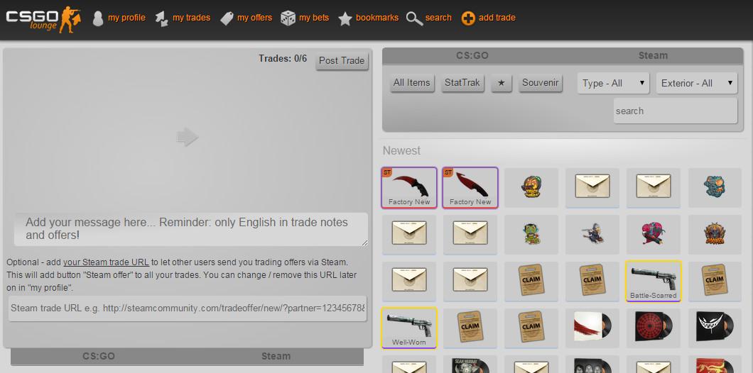 Cs go trade email good steam pastebin com