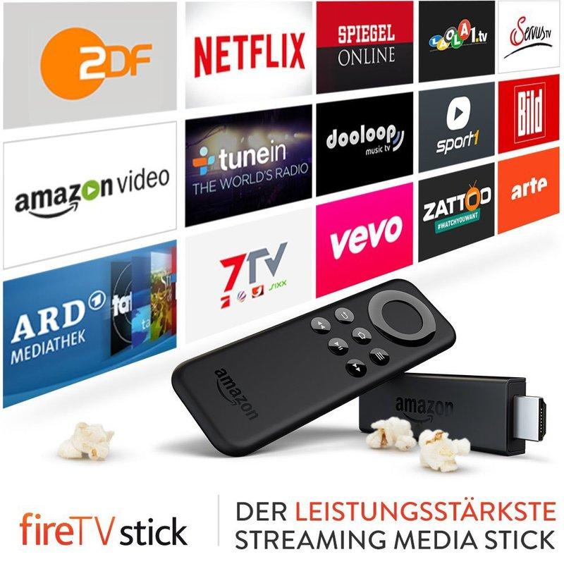 Amazon-Serien auf den TV streamen funktioniert mit dem Fire-TV-Stick.