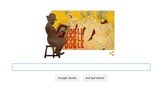 Henri de Toulouse-Lautrec, der Rotlicht-Chronist: Was zeigt Google am 24. November?