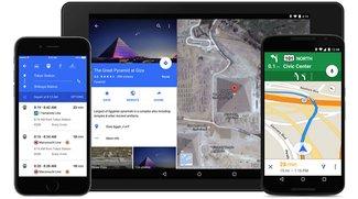 Google Maps für Android: Update bringt Material Design (APK Download)