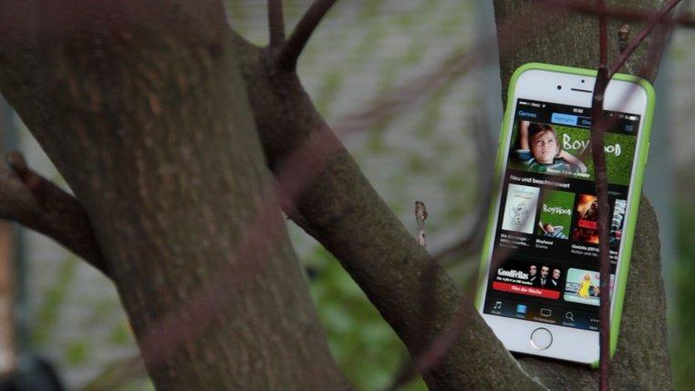 iTry iPhone6: Kommen wir zu den guten Dingen