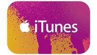iTunes-Karten in Österreich derzeit günstiger