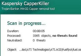Kaspersky CapperKiller