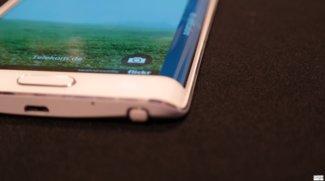Samsung Galaxy S Edge: Patent zeigt Smartphone mit zweiseitig gebogenem Display