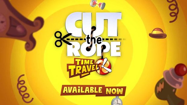 """Amazon App des Tages: """"Cut the Rope: Time Travel HD"""" kostenlos"""