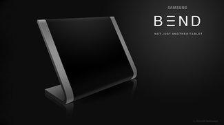 Samsung BEND: Ein Konzept für ein wirklich außergewöhnliches Tablet