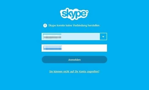 Skype-konnte-keine-Verbindung-herstellen