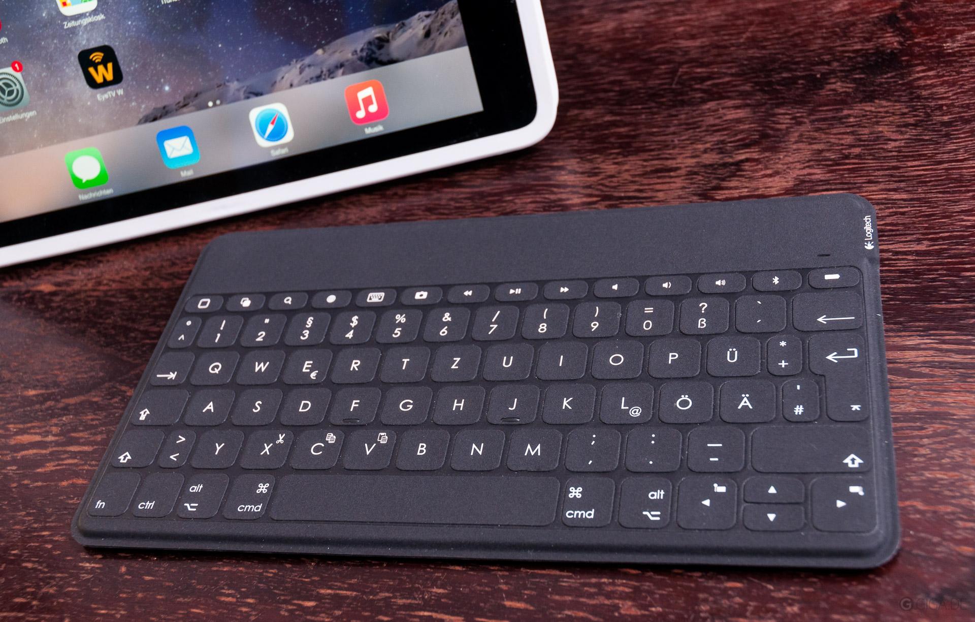 Atemberaubend Logitech Verdrahtete Tastatur Für Ipad Lightning ...