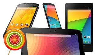 Android 5.0 auf dem Nexus 4, Nexus 5, Nexus 7 oder Nexus 10 installieren