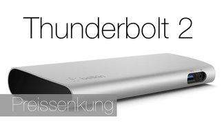 Belkin Thunderbolt 2 Express-HD-Dock: Preissenkung und jetzt auch bei Amazon lieferbar