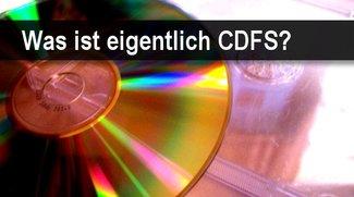 Was ist das CDFS-Format und wie wird es geöffnet?