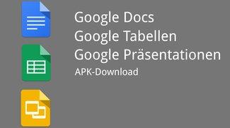 Google Docs, Tabellen & Präsentationen: Updates mit neuen Funktionen &amp&#x3B; Bedienungshilfen [APK-Downloads]